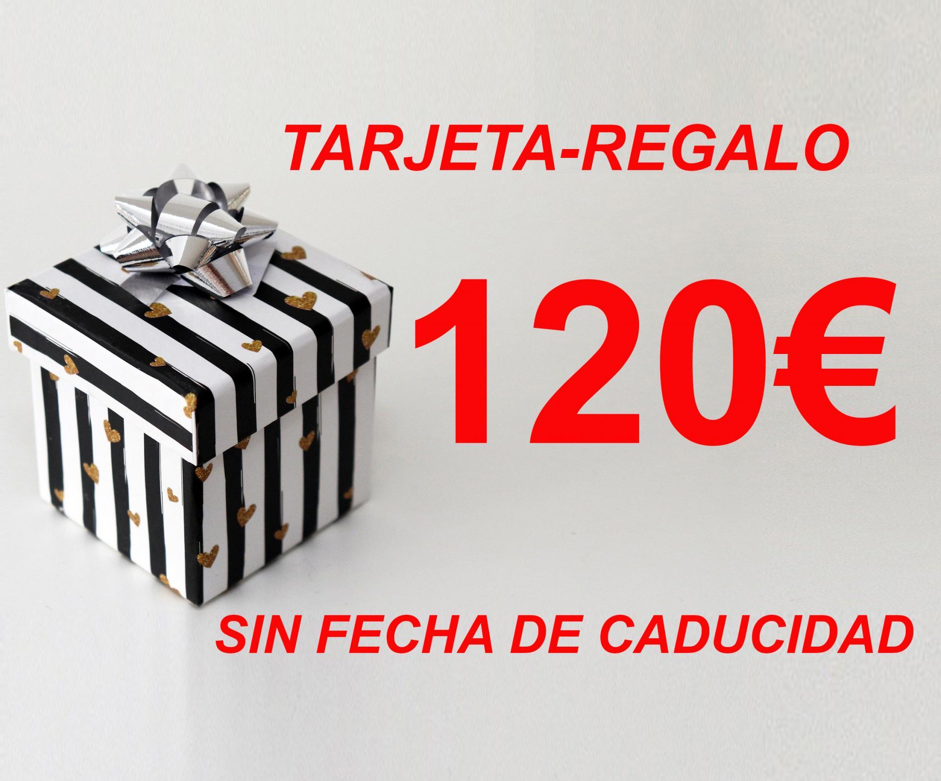 TARJETA-REGALO  120€