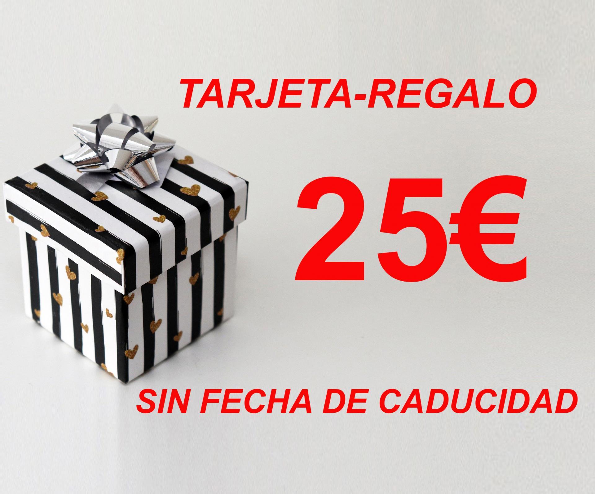TARJETA-REGALO  25€