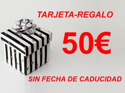 TARJETA-REGALO 50€