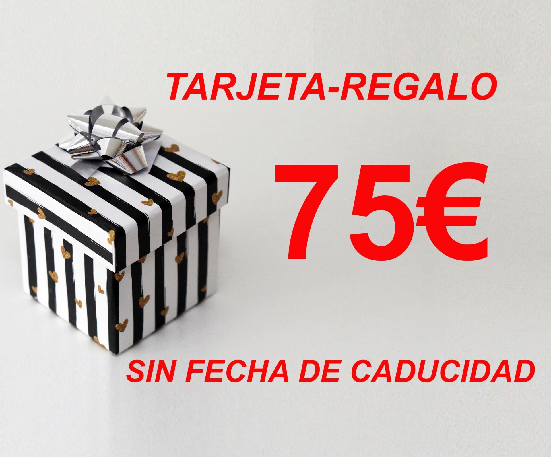 TARJETA-REGALO 75€