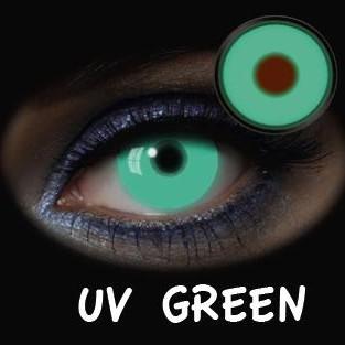 FAD025 GLOW UV GREEN - DIARIAS (2 UNIDADES)