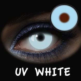 FAD024 GLOW UV WHITE - DIARIAS (2 UNIDADES)