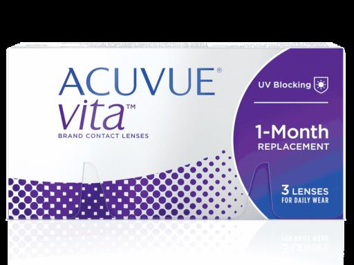 ACUVUE® VITA™ con tecnología HydraMax 8.40