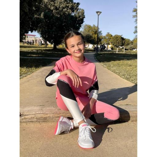 LEGGING TRICOLOR  GIRL CAYRO