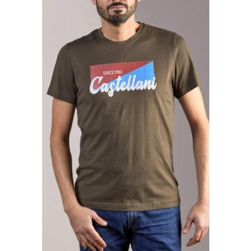 Camiseta VINTAGE (Verde Caza)