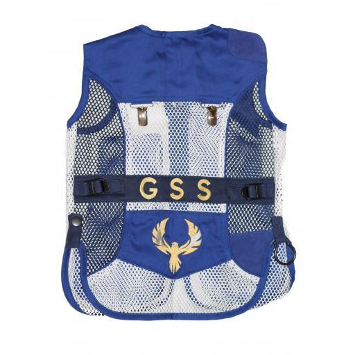 Mini chaleco GSS INVICTUS (Azul y Blanco)  [1]