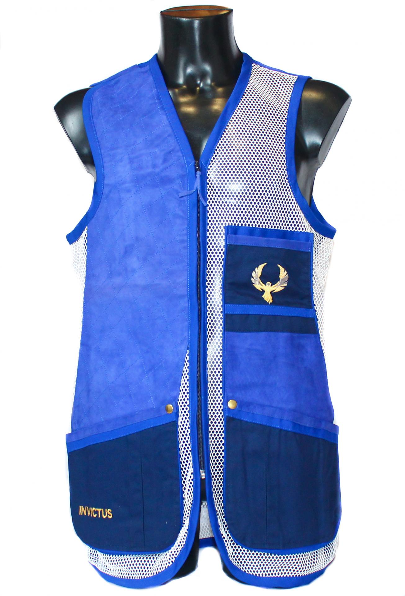 Chaleco GSS INVICTUS (Azul y Blanco)