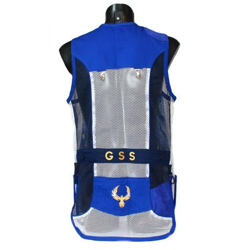 Chaleco GSS INVICTUS (Azul y Blanco)  [1]