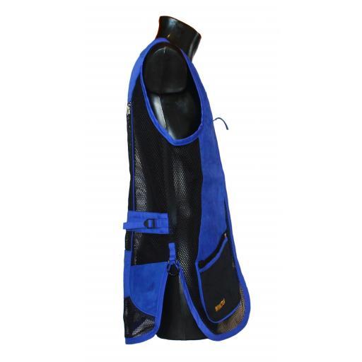 Chaleco GSS INVICTUS (Azul y Negro) [2]
