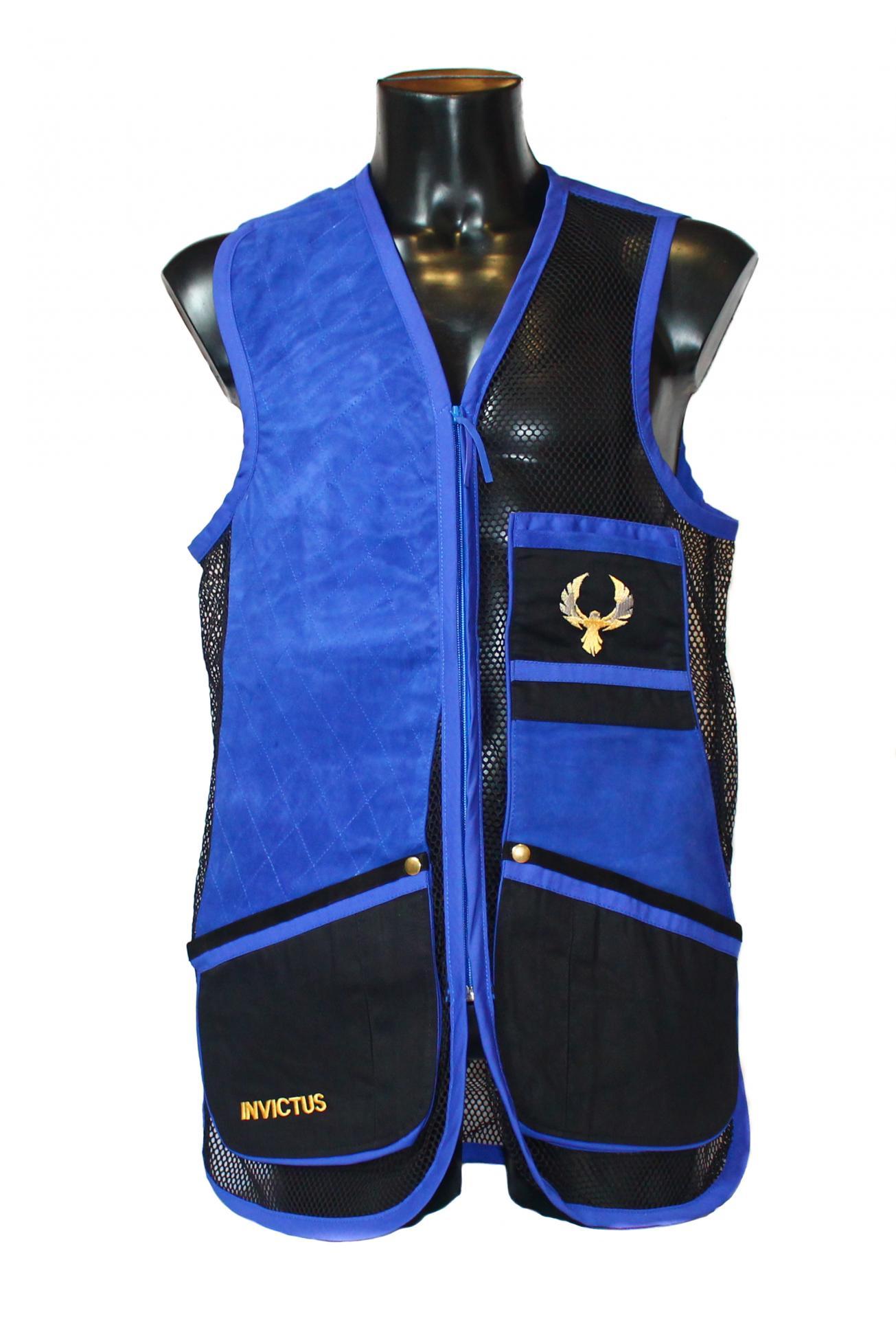 Chaleco GSS INVICTUS (Azul y Negro)