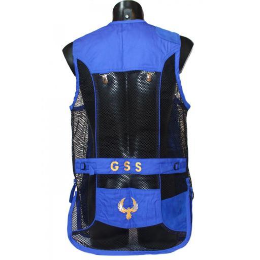 Chaleco GSS INVICTUS (Azul y Negro) [1]