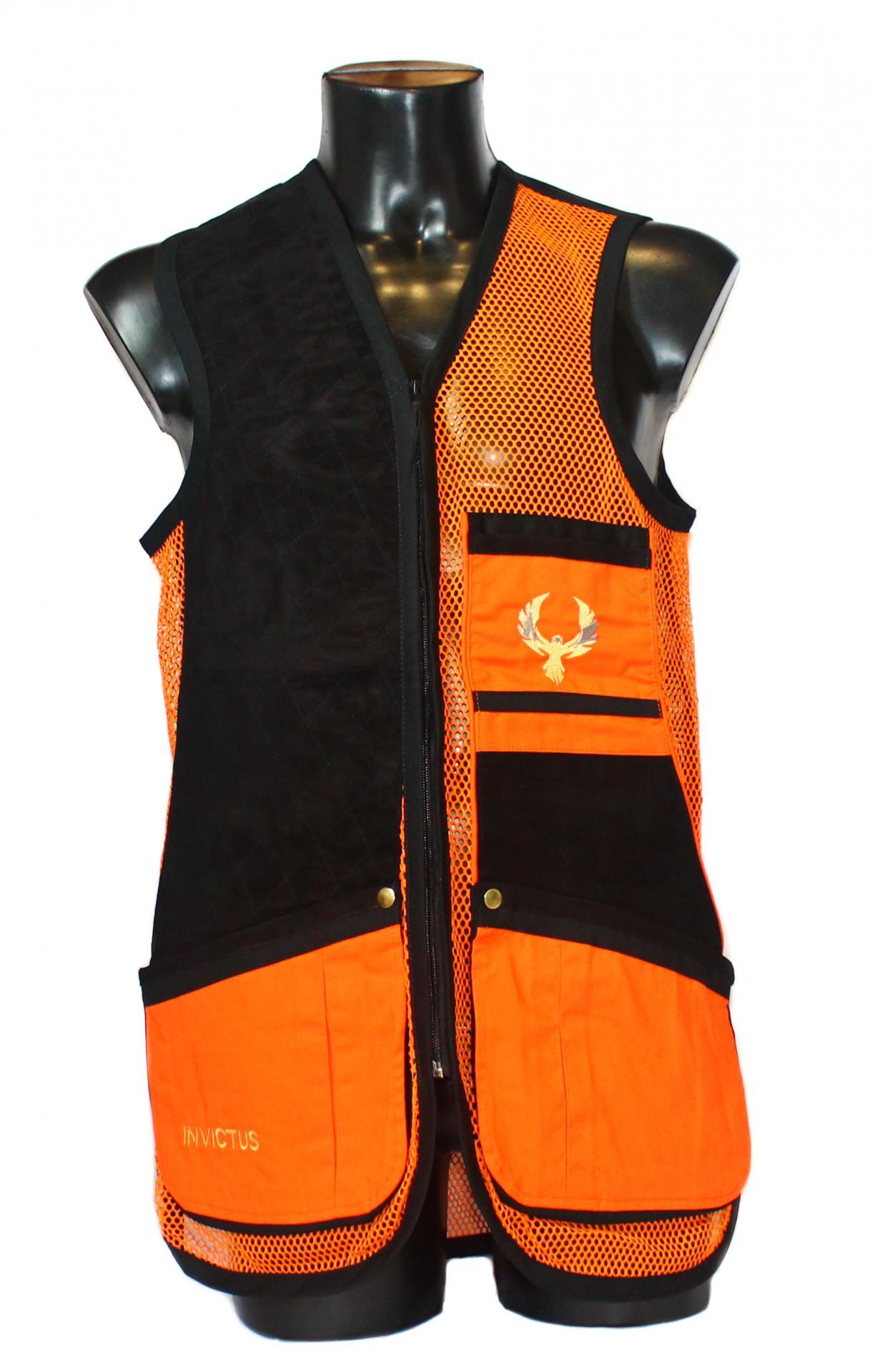 Chaleco GSS INVICTUS (Naranja y Negro)