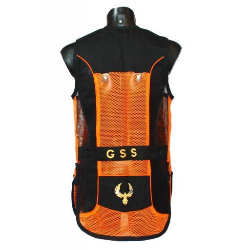 Chaleco GSS INVICTUS (Naranja y Negro) [1]