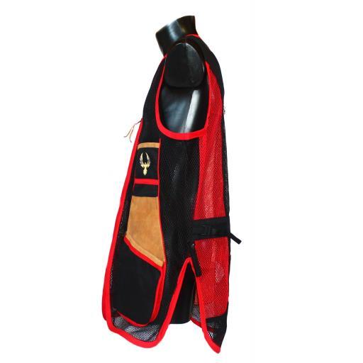 Chaleco GSS INVICTUS (Rojo y Negro) [3]
