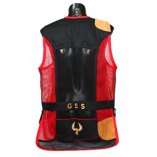 Chaleco GSS INVICTUS (Rojo y Negro) [1]