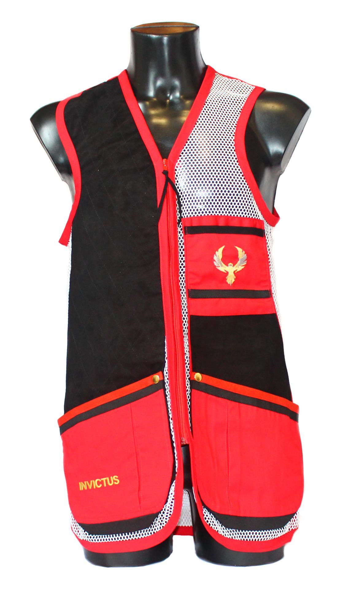 Chaleco GSS INVICTUS (Rojo y Blanco)