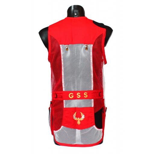 Chaleco GSS INVICTUS (Rojo y Blanco)  [1]