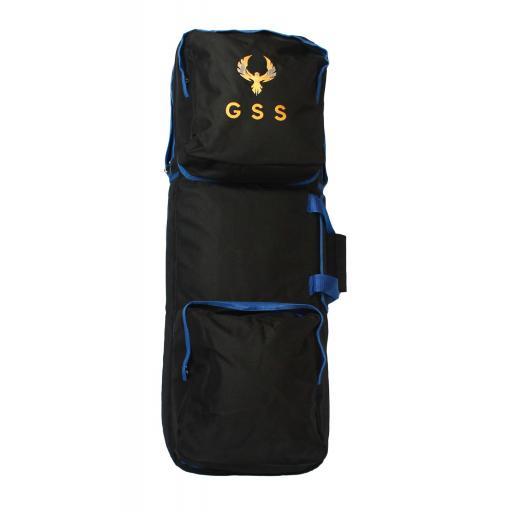Bolsa de Transporte para Escopeta Negra y Azul
