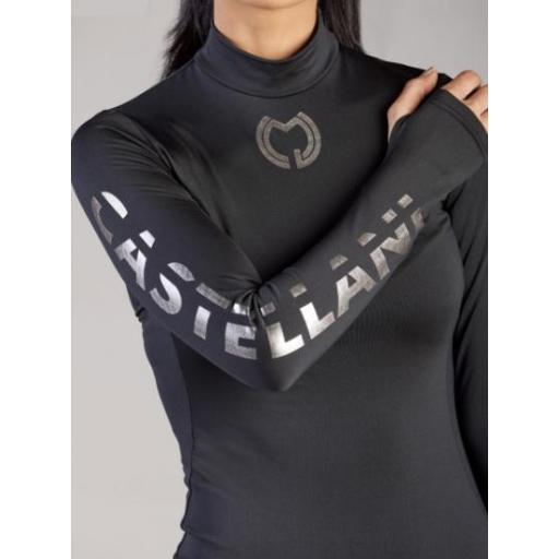 Camiseta Térmica Mujer Negra [2]