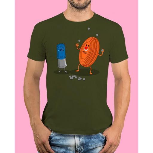 "Camiseta TUTIRO ""PAYASETE"" (Verde)"