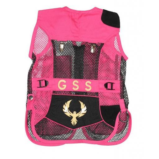 Mini chaleco GSS INVICTUS (Rosa y Negro)  [1]