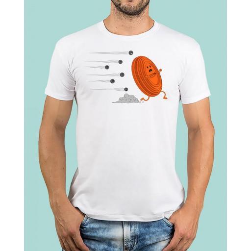 """Camiseta TUTIRO """"A LA FUGA"""" (Blanca)"""