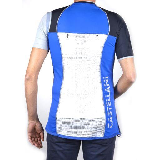 Chaleco TK PRO Hombre (P.ALCANTARA) Azul y Blanco [1]