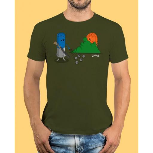 """Camiseta TUTIRO """"BUSCA"""" (Verde)"""