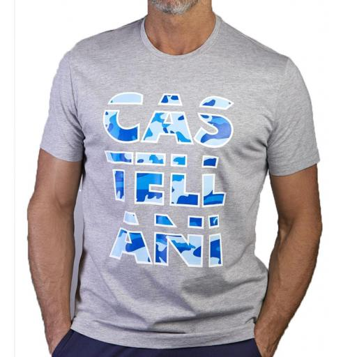 Camiseta CAMUFLAJE GRAPHIC (Gris)