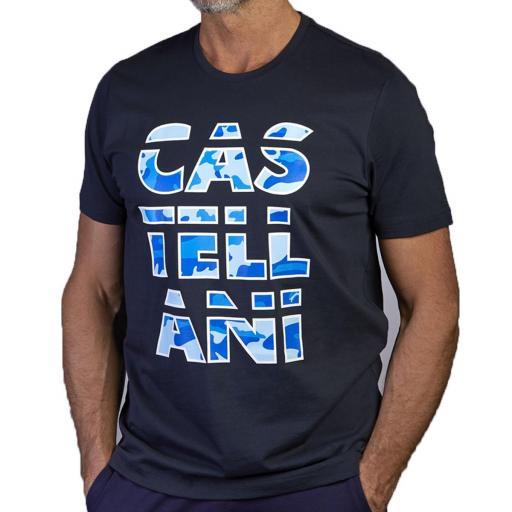 Camiseta CAMUFLAJE GRAPHIC (Azul Marino)