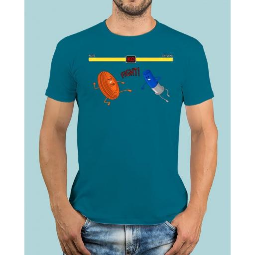 "Camiseta TUTIRO ""FIGHT"" (Azul)"