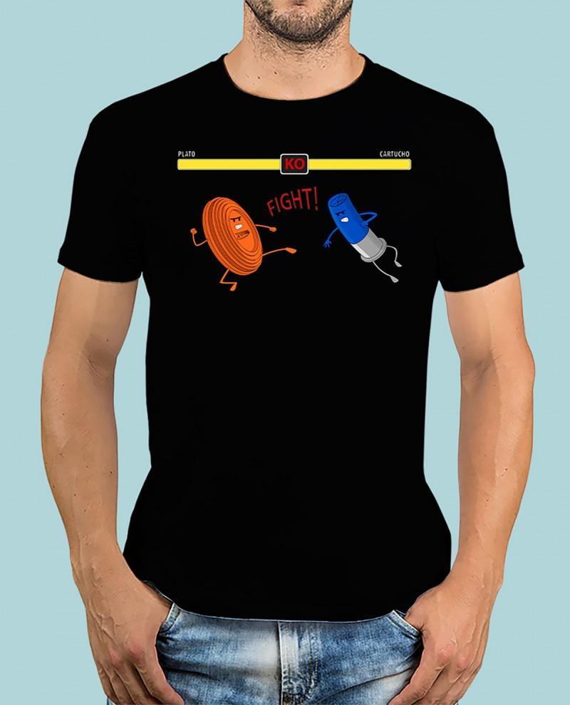 "Camiseta TUTIRO ""FIGHT"" (Negra)"