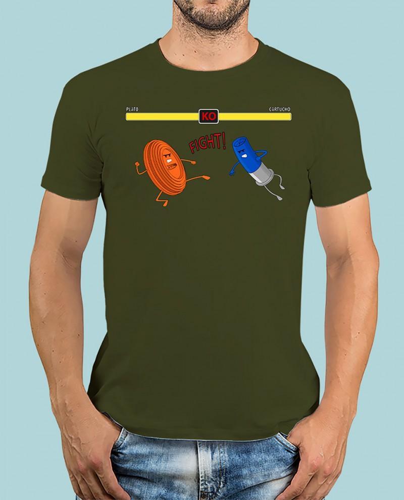 """Camiseta TUTIRO """"FIGHT"""" (Verde)"""