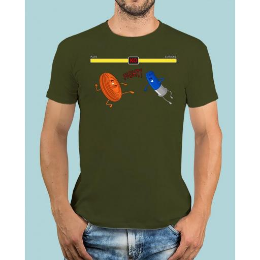 "Camiseta TUTIRO ""FIGHT"" (Verde)"