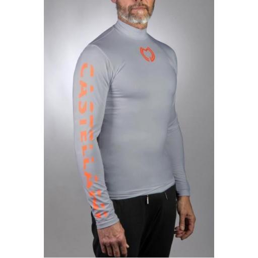 Camiseta Térmica Gris
