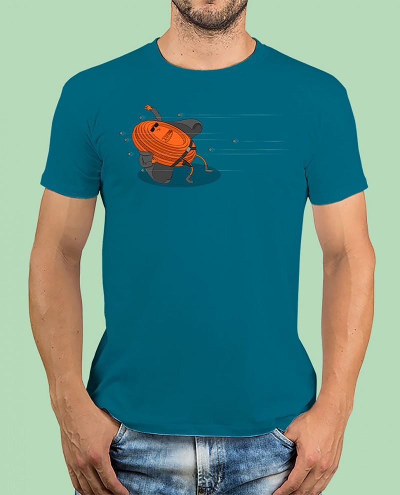 """Camiseta TUTIRO """"MATRIX"""" (Azul)"""