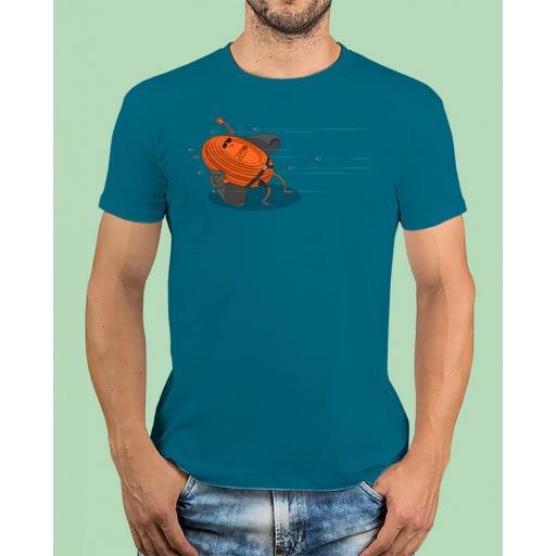 """Camiseta TUTIRO """"MATRIX"""" (Azul) [0]"""