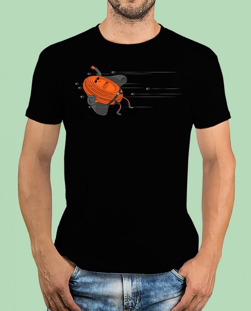 """Camiseta TUTIRO """"MATRIX"""" (Negra)"""