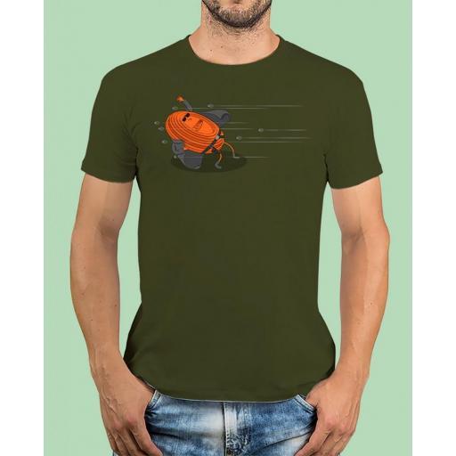 """Camiseta TUTIRO """"MATRIX"""" (Verde)"""