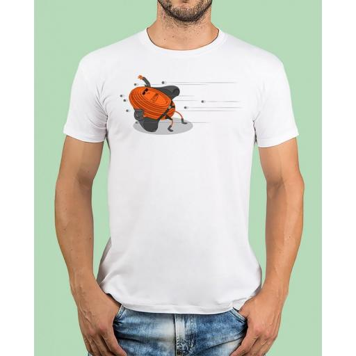"""Camiseta TUTIRO """"MATRIX"""" (Blanca)"""