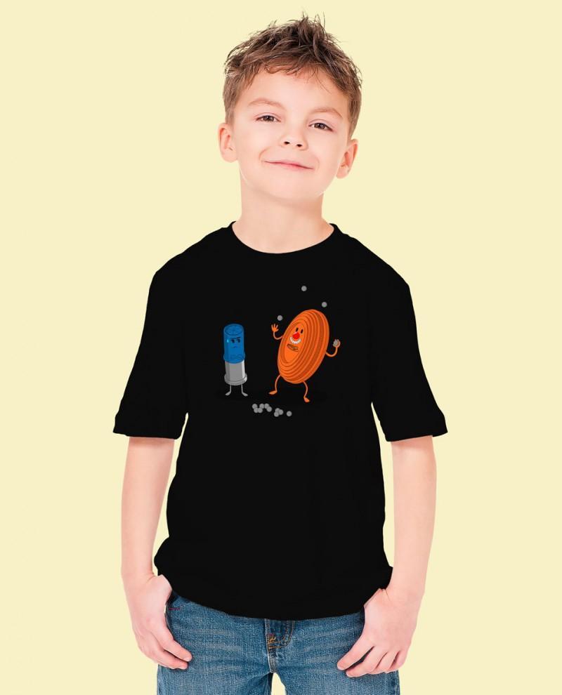 """Camiseta Niñ@ TUTIRO """"PAYASETE"""" (Negra)"""