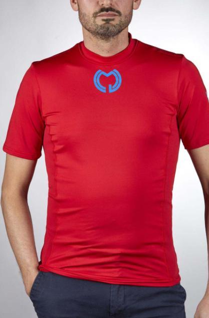 Camiseta Técnica Manga Corta Roja