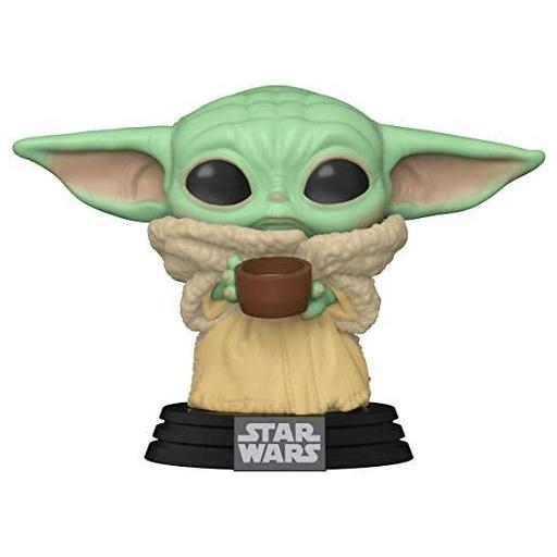 Figura Funko Pop! Star Wars The Mandalorian The Child with Cup [2]