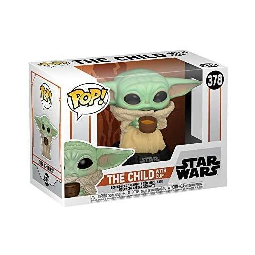 Figura Funko Pop! Star Wars The Mandalorian The Child with Cup [1]