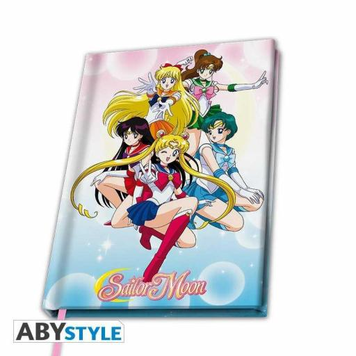LIBRETA A5 SAILOR MOON