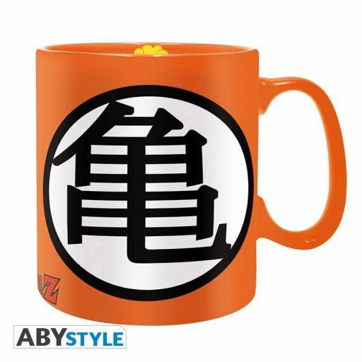 TAZA DRAGON BALL KAME LOGO