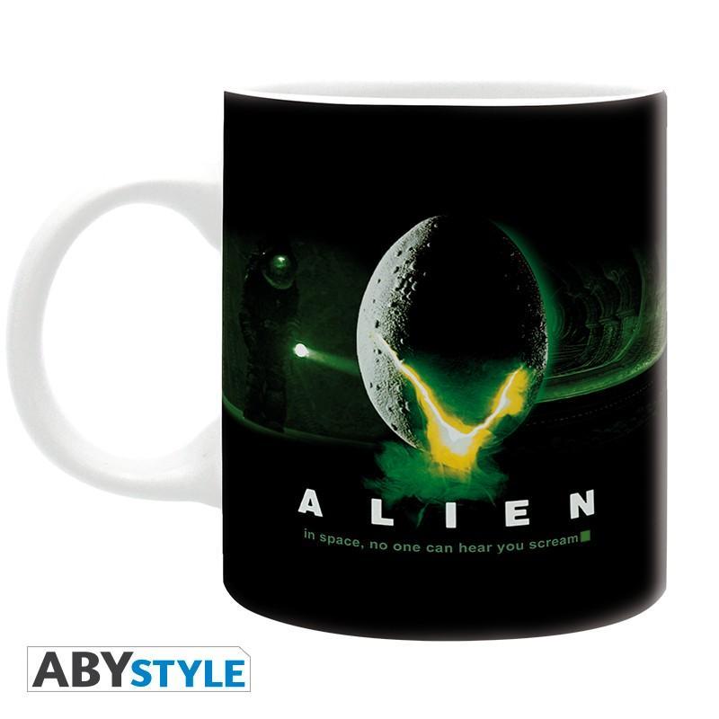 Taza Alien In Space