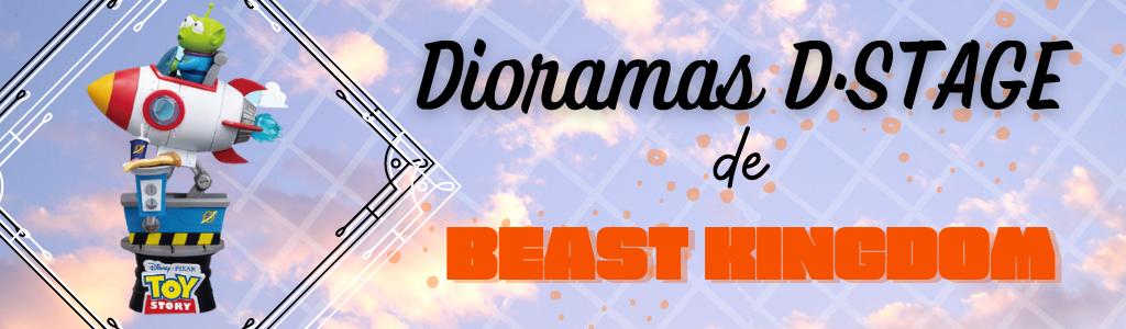 Línea de dioramas D·STAGE de Beast Kingdom