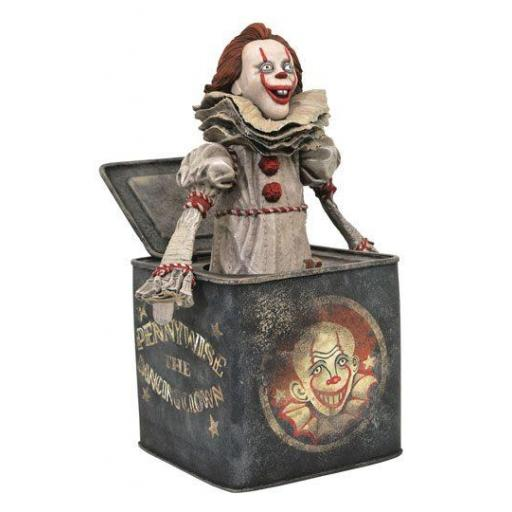 Estatua Diamond Gallery It: Chapter Two Diorama Pennywise in Box 23 cm