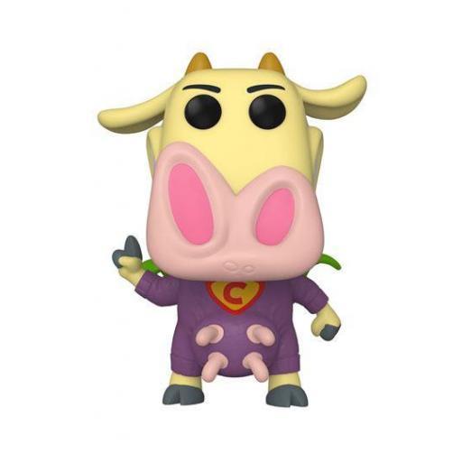 Figura Funko Pop! Cartoon Network Vaca y Pollo: Super Vaca